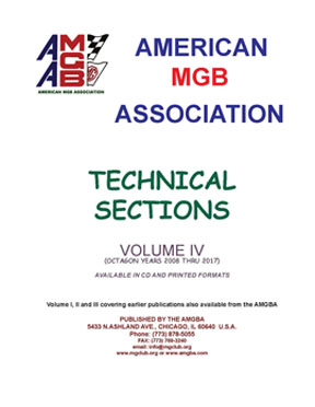 AMGBA Tech Sections IV
