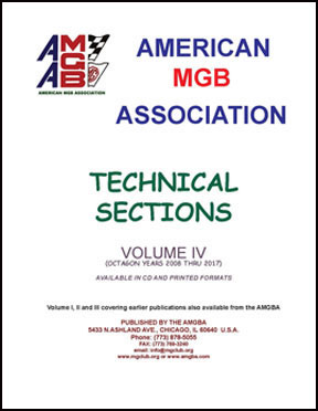AMGBA Technical Sections Volume IV