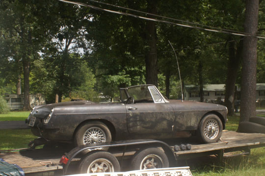 1969 MGB with 1977 engine