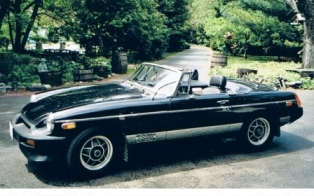 1980 MGB L.E. of Thomas Dahlfors