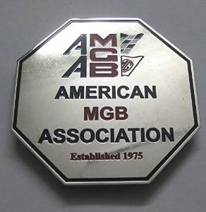 AMGBA Grille Badge
