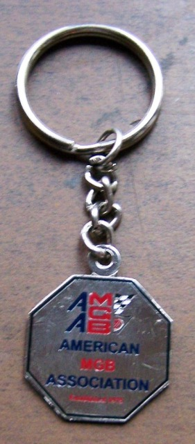 AMGBA Key Ring
