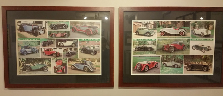 Lane Motor Museum AMGBA Poster Donation