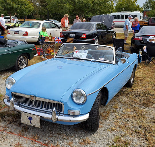 AMGBA Meet 2019 - 2nd Place Rubber Bumper MGB - 63 MGB of Susan Beck from Spartanburg, South Carolina