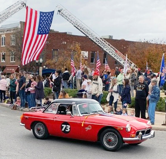73 B of Steve Perkins from Franklin, Tennessee at Veteran's Day Parade