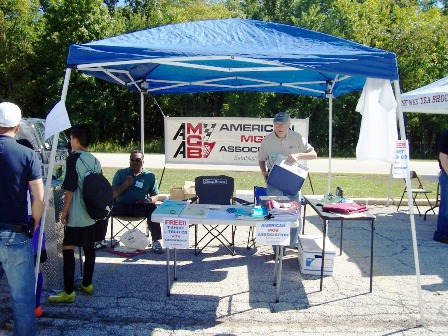 AMGBA Tent at 2010 Chicago British Car Festival