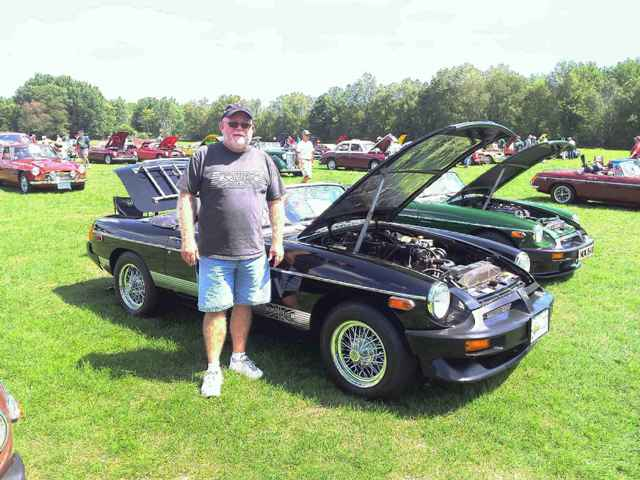 """'80 B of D""""Arcy Balllinger at the 2012 University Motors Summer Party Reunion"""