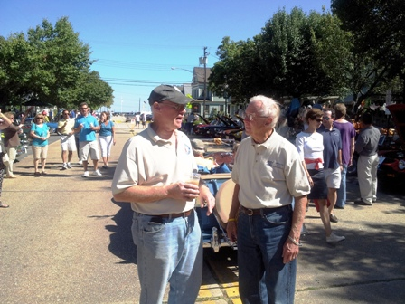 Bob Canfield, event organizer with Bruce Magers