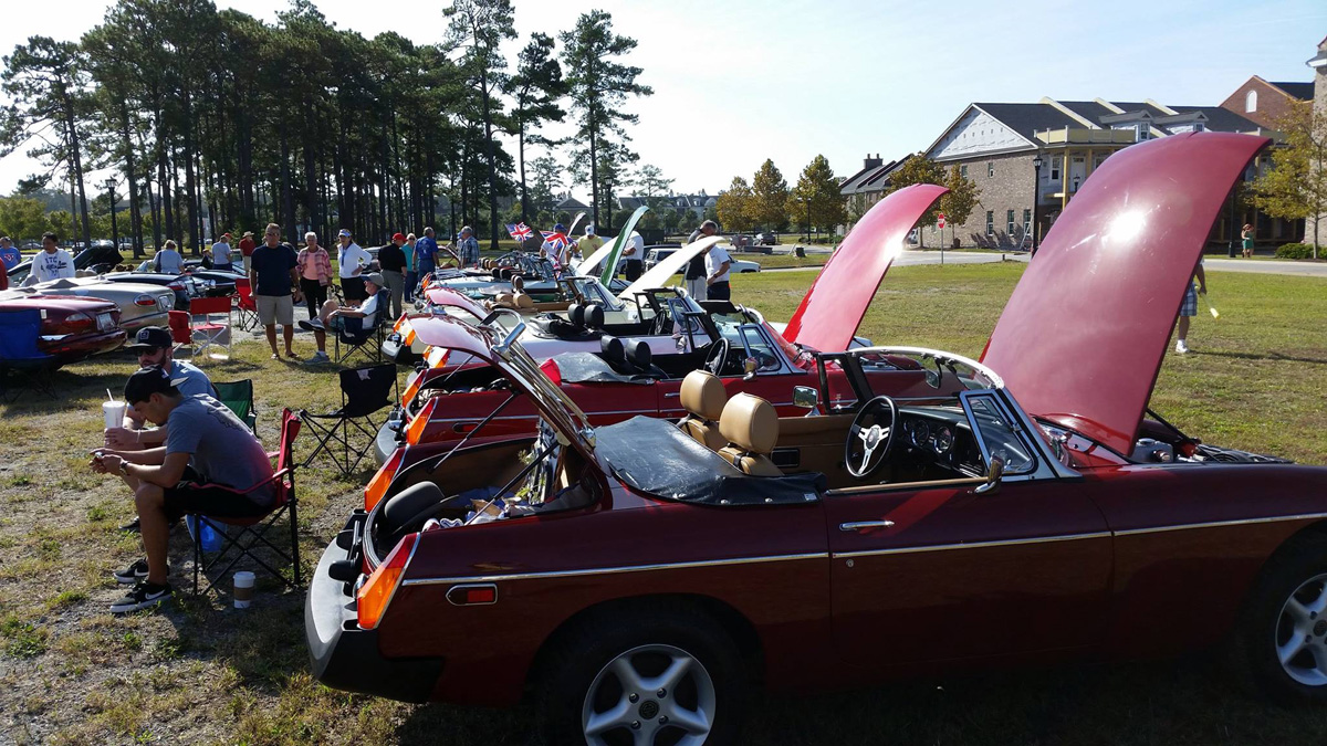AMGBA Meet 2015 and Myrtle Beach Britfest