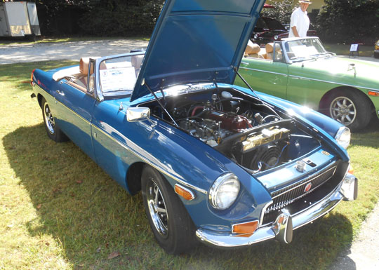 1st Place MGB Mk 2 - '71B of Jonathan Leslie from St. Louis, Missouri